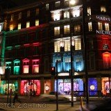 Lighting up Knightsbridge in style