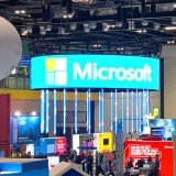 Curved LED Screen for Microsoft